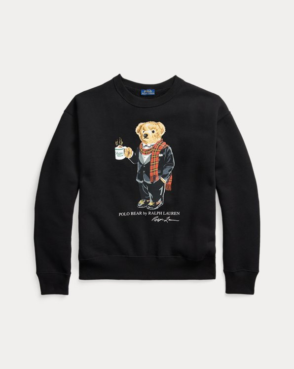 Cocoa Polo Bear Sweatshirt