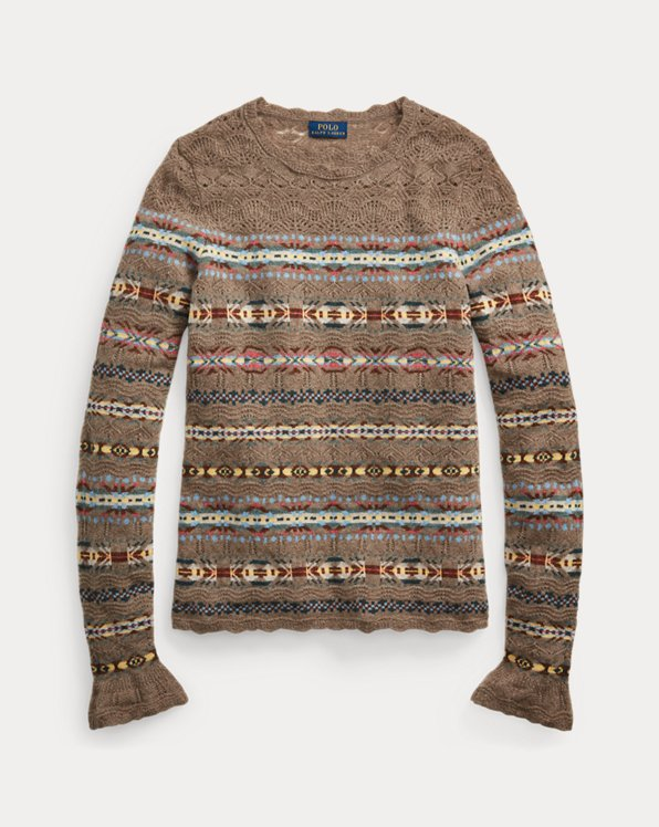 Fair Isle Crewneck Jumper