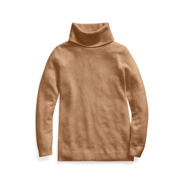 폴로 랄프로렌 Polo Ralph Lauren Cashmere Turtleneck Sweater,Collection Camel Mel