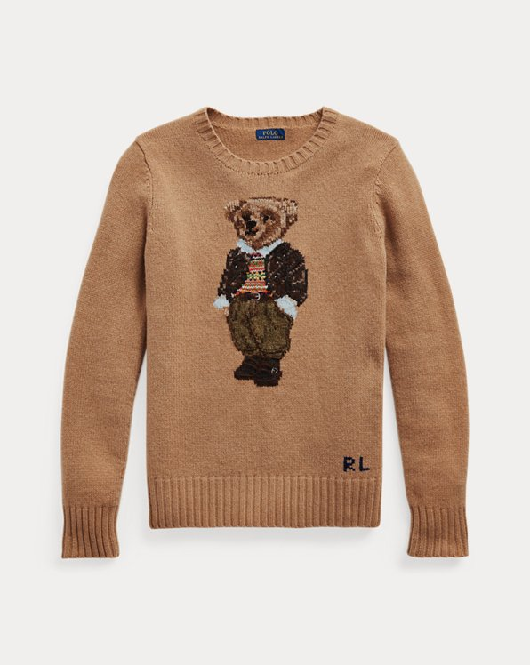 Polo Bear Wool-Blend Jumper