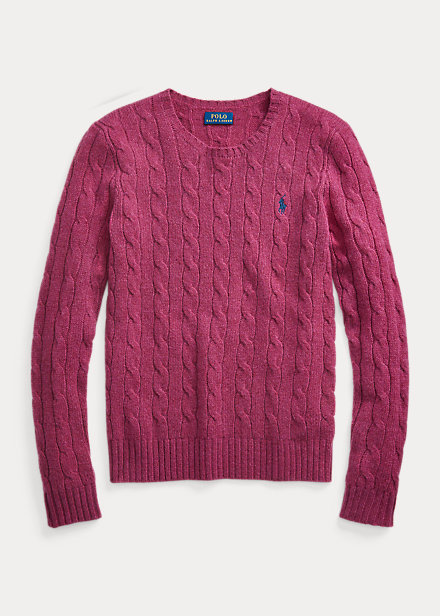 Polo Ralph Lauren Cable Wool-Blend Sweater