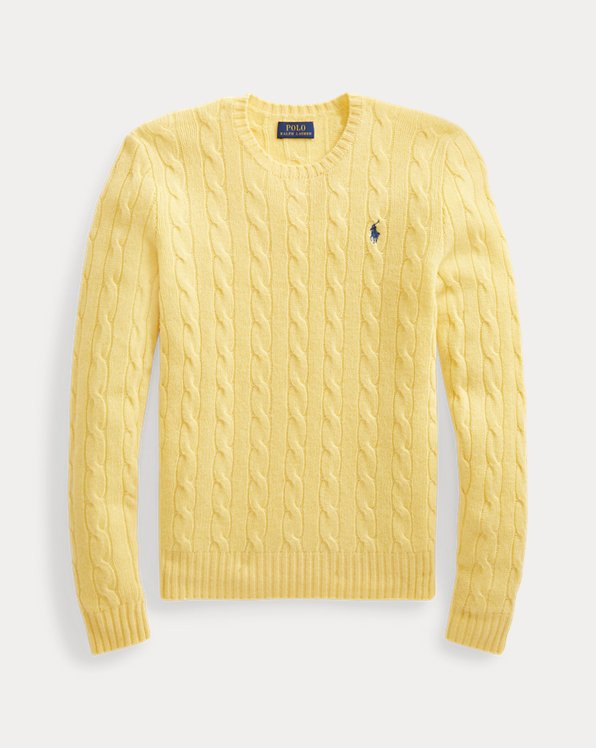 Cable Wool-Blend Jumper