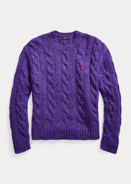 Polo Ralph Lauren Cable-Knit Crewneck Sweater