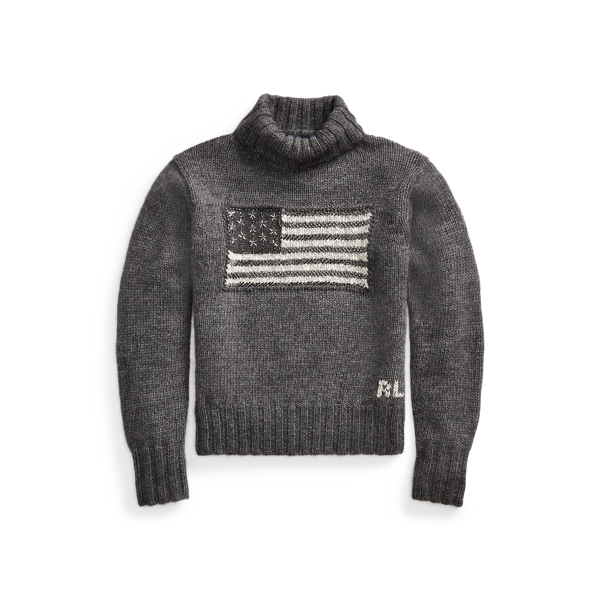 Polo Ralph Lauren Flag Turtleneck Sweater
