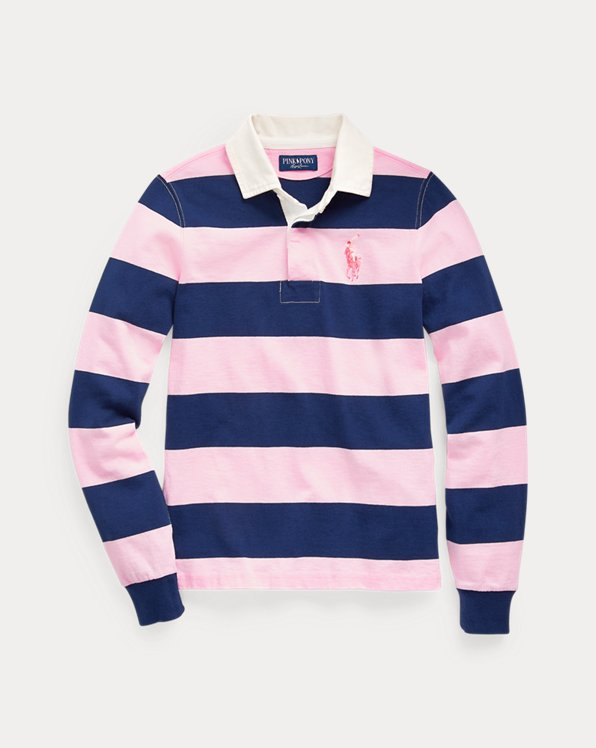 Pink Pony Cotton Rugby Shirt