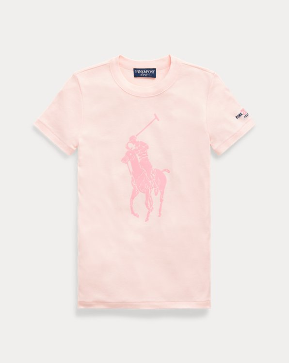 Pink Pony Slim Fit Cotton Tee