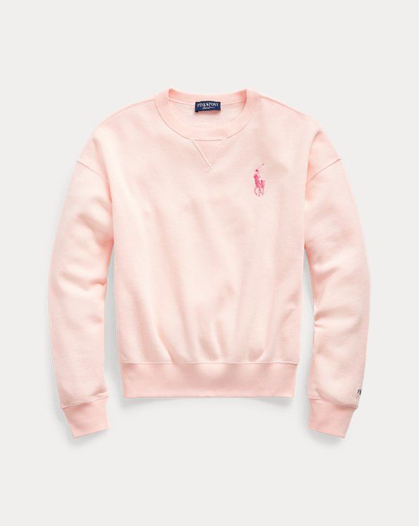 Pink Pony Fleece Crewneck Sweatshirt