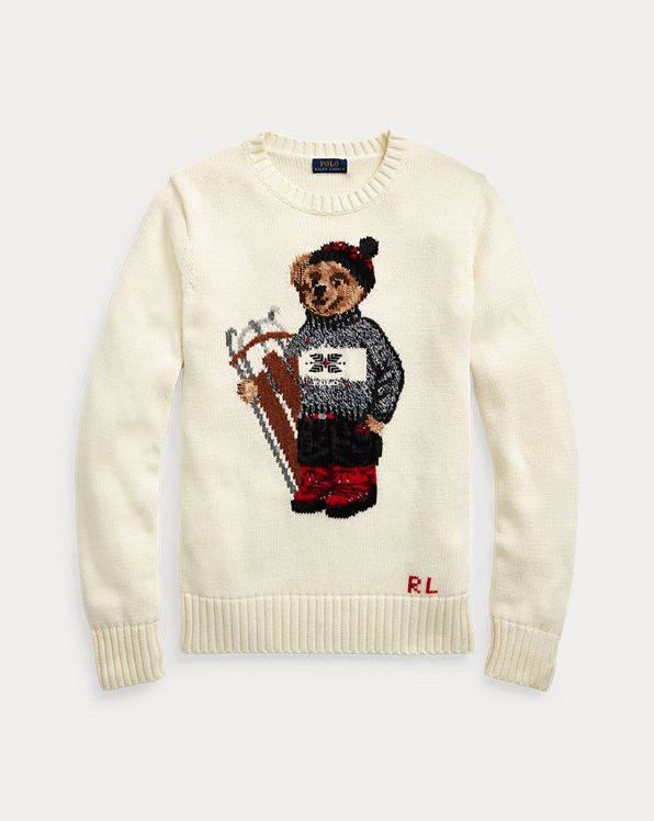 Pullover mit Sled Polo Bear
