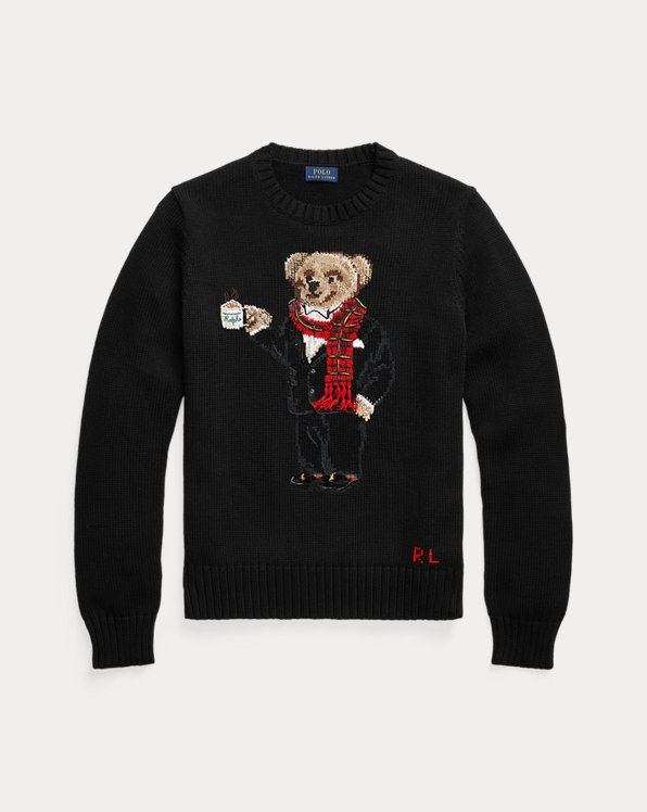 Cocoa Polo Bear Jumper