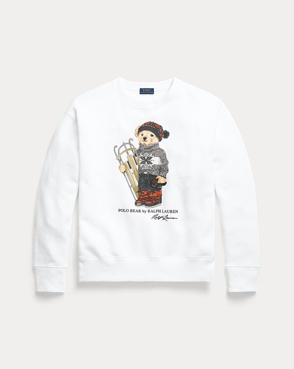 Sweatshirt mit Sled Polo Bear