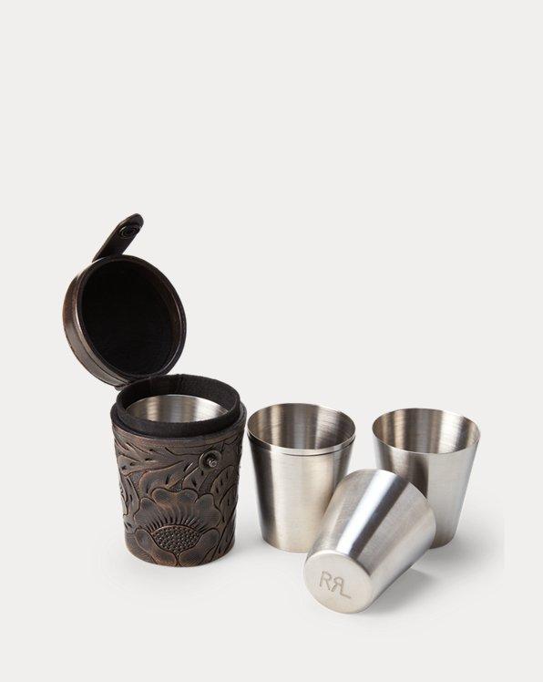 Conjunto de vasos de chupito y funda