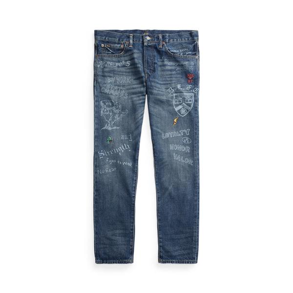 폴로 랄프로렌 Polo Ralph Lauren Sullivan Slim Graphic Jean,Glenbrook