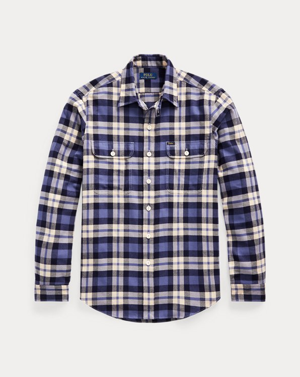 Classic Fit Plaid Performance Shirt