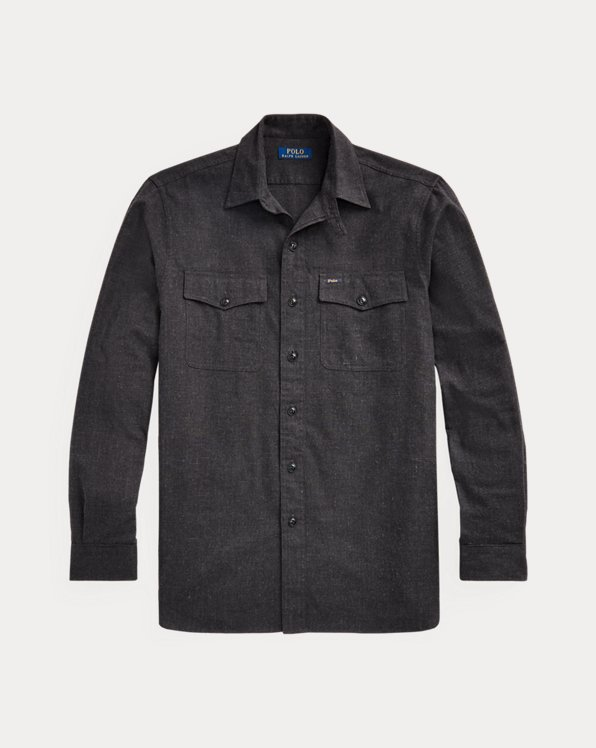 Classic Fit Performance Flannel Shirt