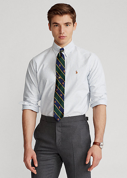 Polo Ralph Lauren Custom Fit Striped Oxford Shirt