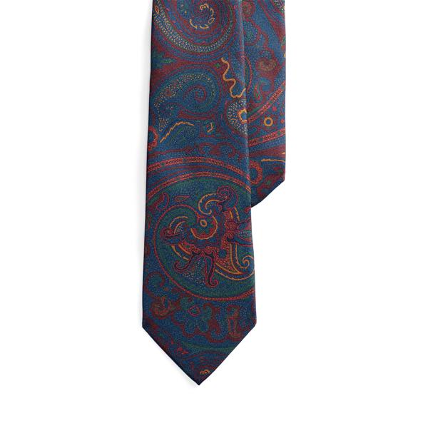 폴로 랄프로렌 넥타이 Polo Ralph Lauren Paisley Silk Tie,Multi