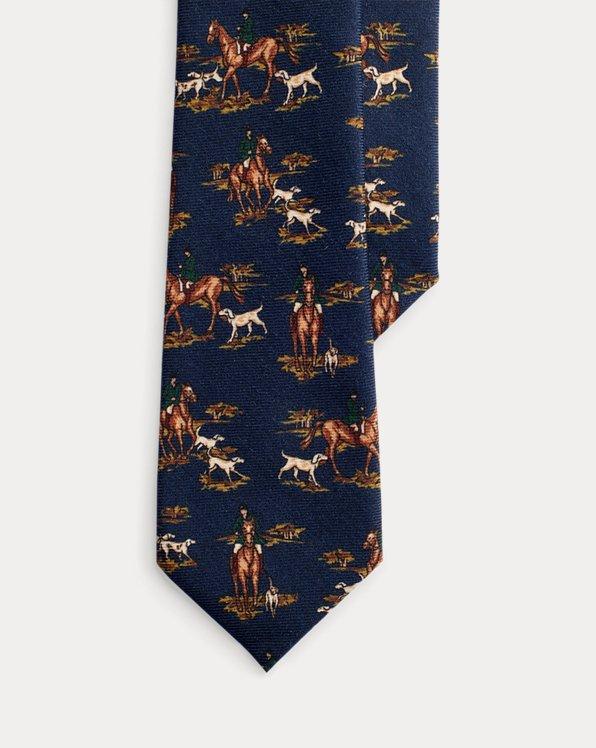 Cravate étroite aventurier en laine