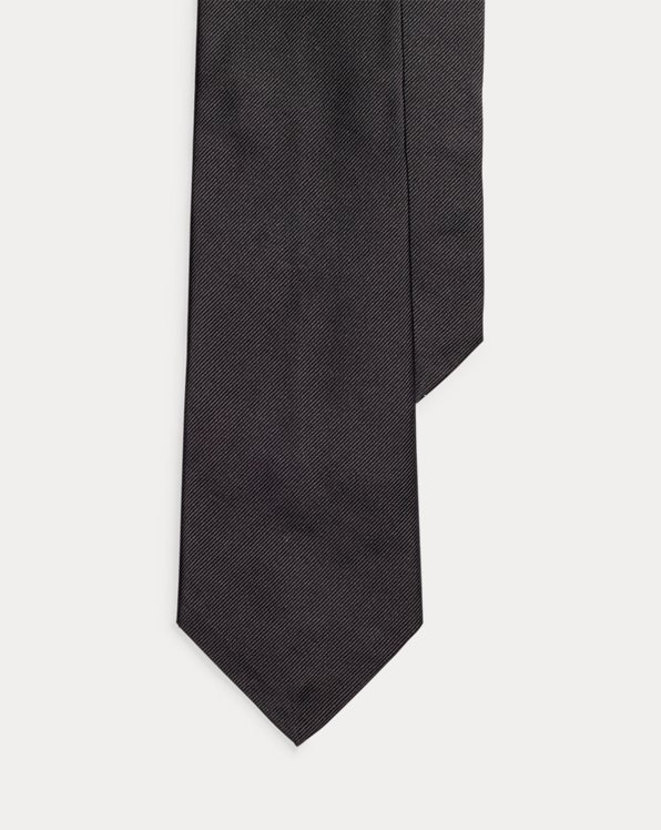 Skull-and-Bones Silk Tie