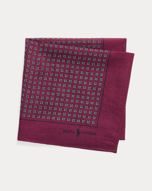 Wool Challis Pocket Square