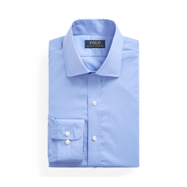 폴로 랄프로렌 셔츠 Polo Ralph Lauren Regent Custom Fit Poplin Shirt,Copen Blue