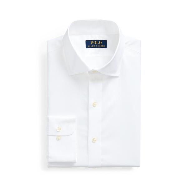 폴로 랄프로렌 셔츠 Polo Ralph Lauren Regent Slim Fit Poplin Shirt,White