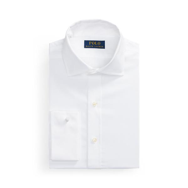 폴로 랄프로렌 셔츠 Polo Ralph Lauren Regent Custom Fit Poplin Shirt,White