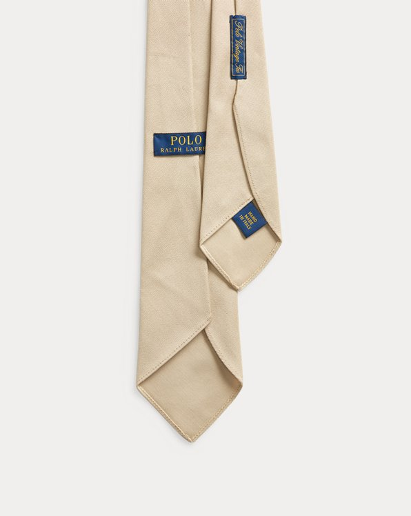 Vintage-Inspired Chino Tie