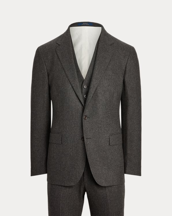 Polo Wool Flannel 3-Piece Suit