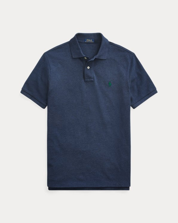 Classic Fit Mesh Polo Shirt