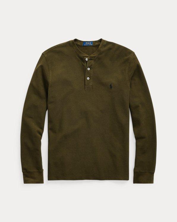 Featherweight Mesh Henley Shirt