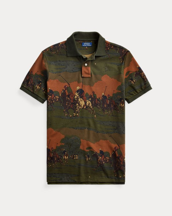 Custom Slim Match-Print Polo