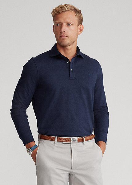 Polo Ralph Lauren Custom Slim Fit Jacquard Polo Shirt