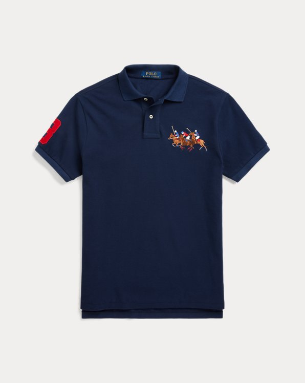 Custom-Slim-Fit Polohemd
