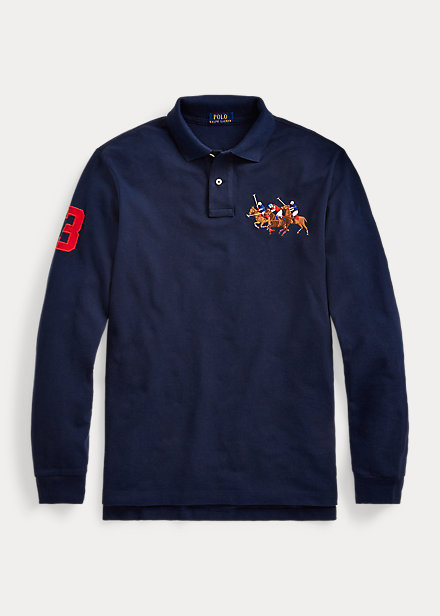Polo Ralph Lauren Classic Fit Triple-Pony Polo
