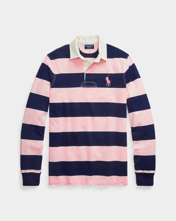 Pink Pony Custom Slim Fit Rugby Shirt