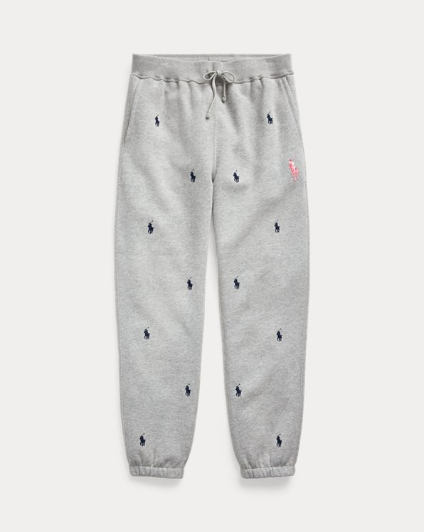 Pink Pony Fleece Jogger Pant