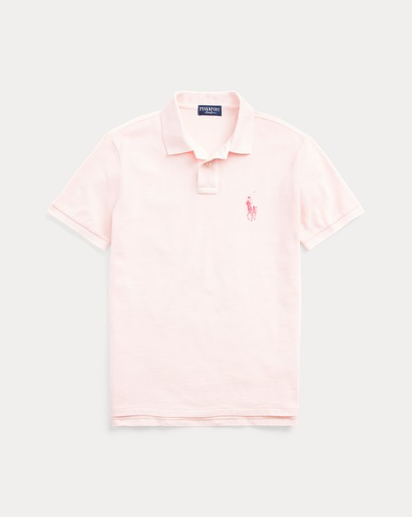Pink Pony Custom Slim Fit Polo Shirt