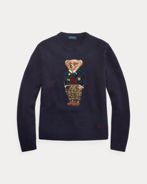 Adretter Pullover mit Polo Bear