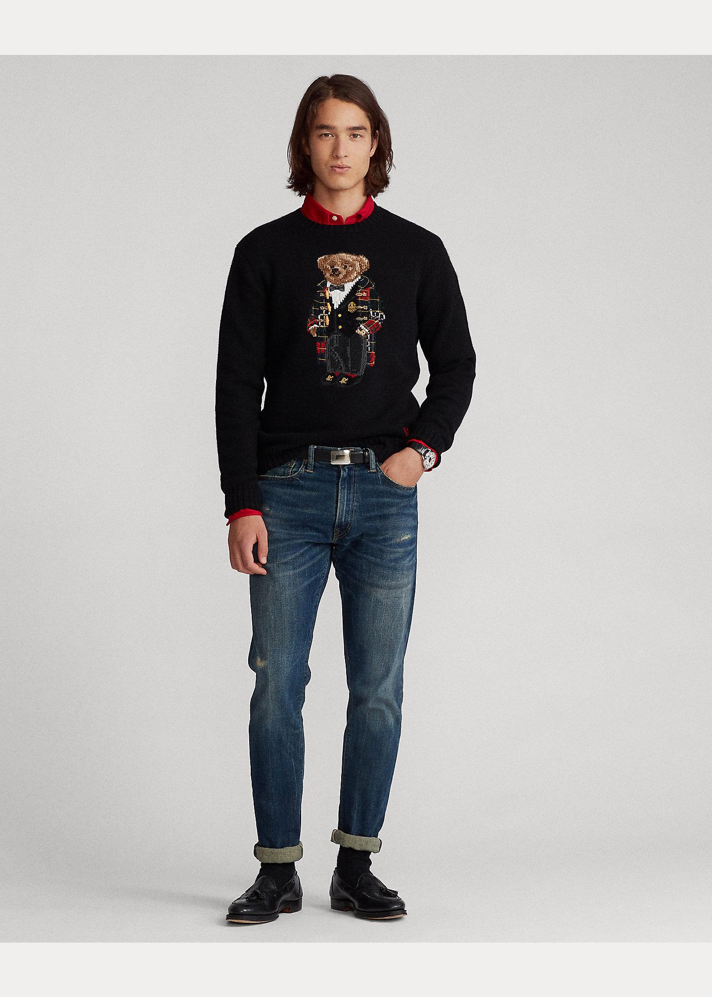 Polo Ralph Lauren Duffel Coat Polo Bear Sweater 3