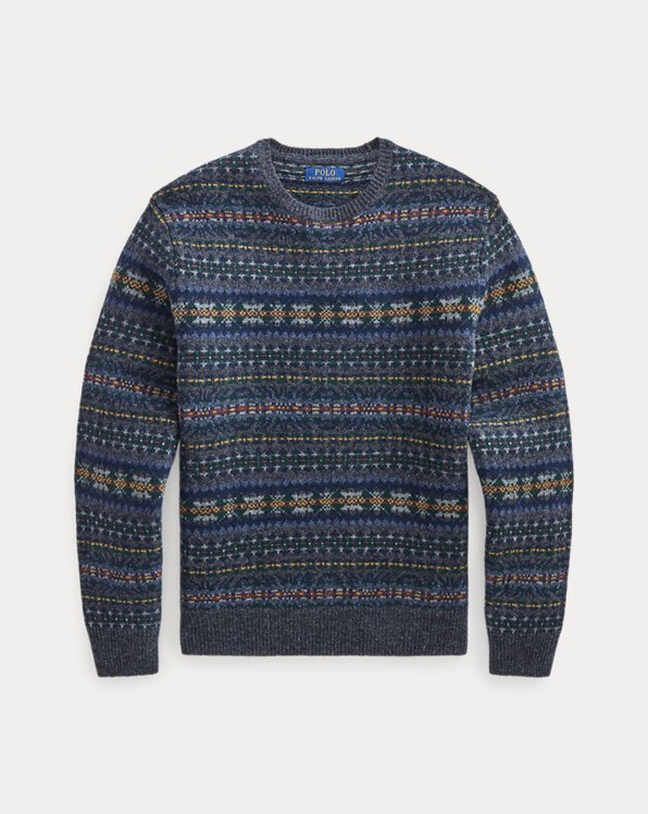 Fair Isle Wool Jumper