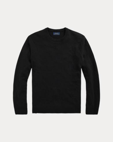 폴로 랄프로렌 워셔블 100% 캐시미어 스웨터 - 블랙 (한겨울 실용템으로 강추!) Polo Ralph Lauren Washable Cashmere Sweater 506840
