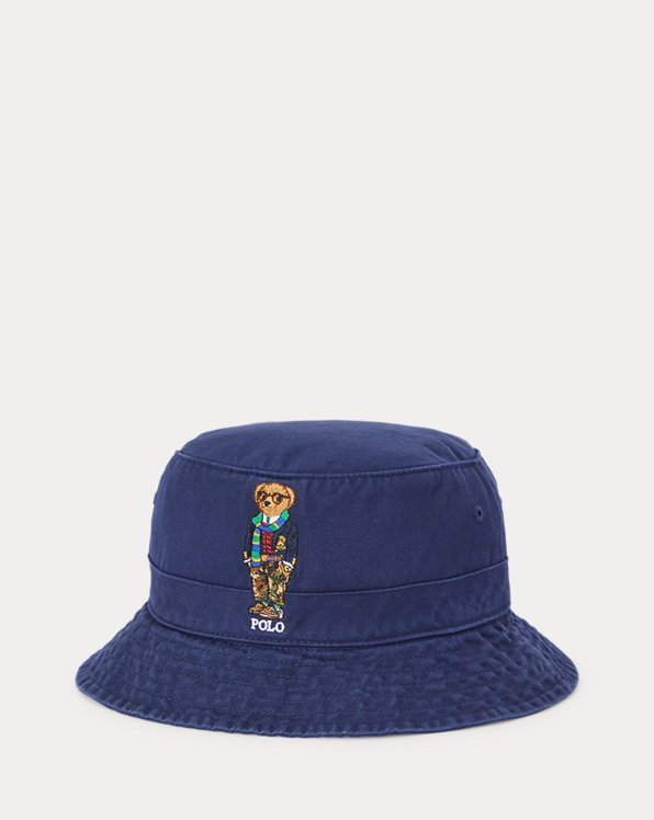 Polo Bear Chino Bucket Hat