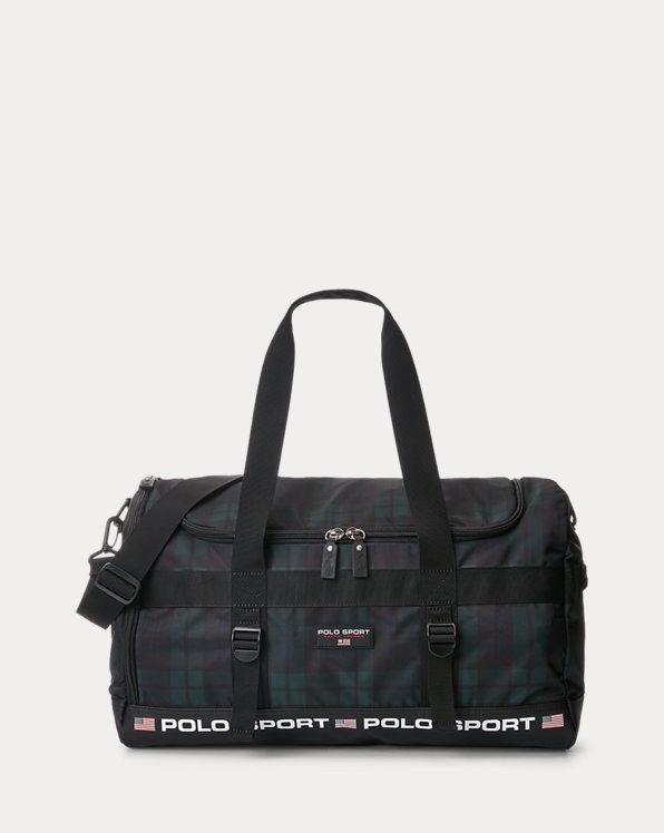 Polo Sport Black Watch Plaid Duffel