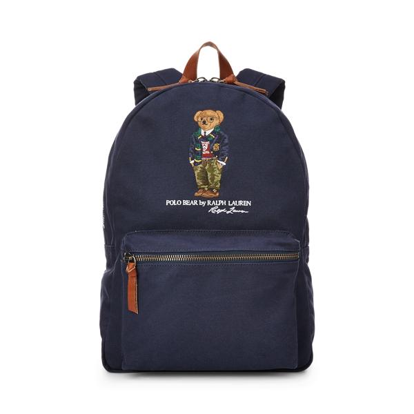 Polo Ralph Lauren Polo Bear Canvas Backpack