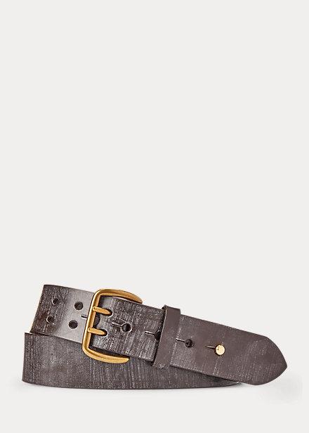 Polo RalphLauren Double-Prong Leather Belt