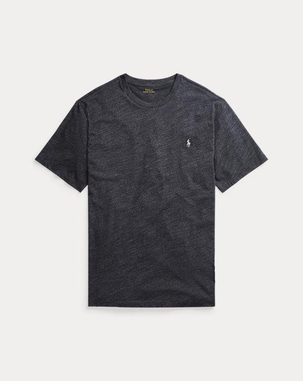 Rundhals-T-Shirt aus Jersey
