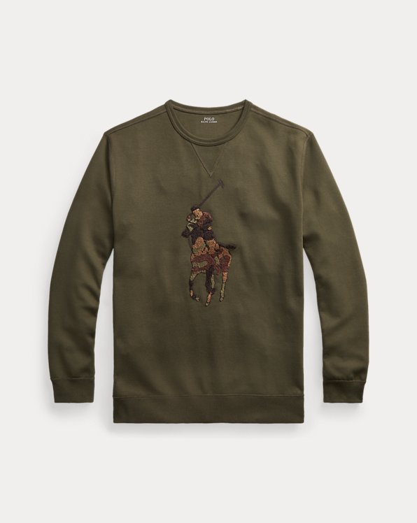 Camo Big Pony Sweatshirt