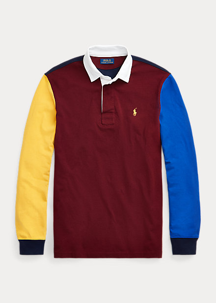 Polo Ralph Lauren Color-Blocked Rugby Shirt