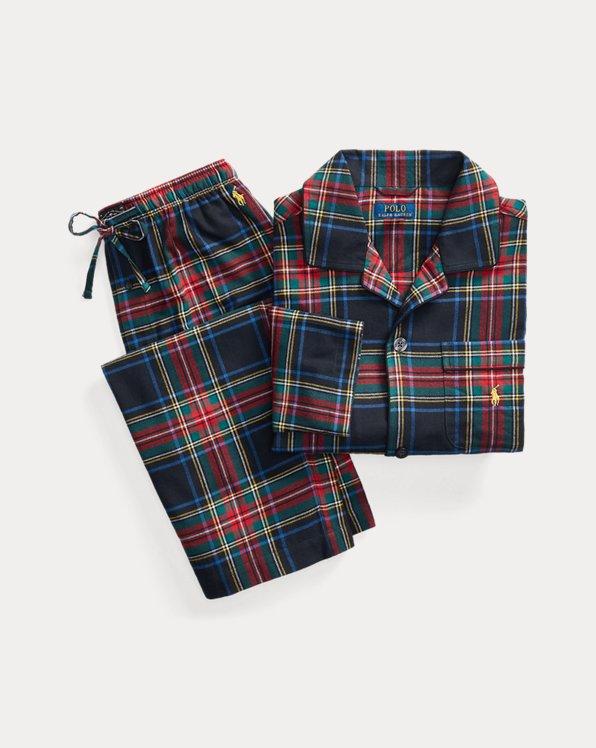 Plaid Flannel Sleep Set