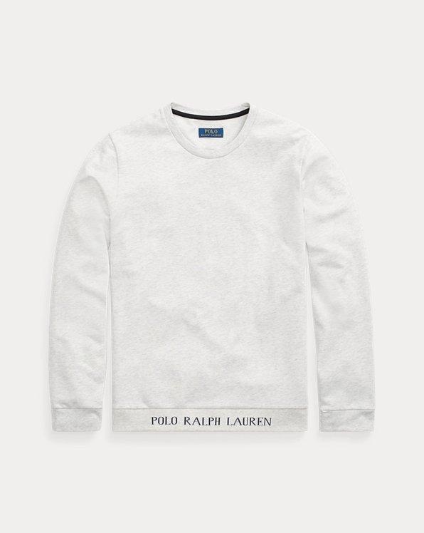 Cotton-Blend Crewneck Sleep Shirt